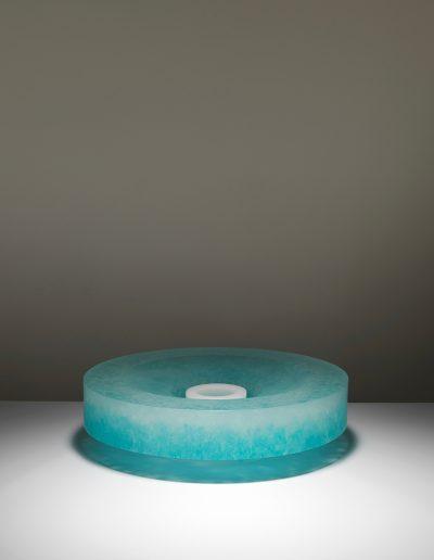 Bruno Romanelli, Cast glass sculpture